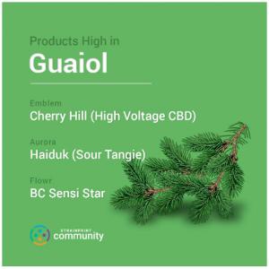 Guaiol chart.