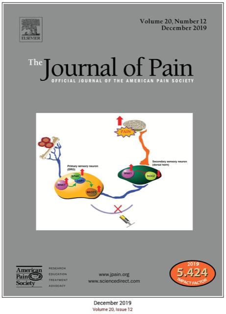 Journal of Pain (Vol. 20, Number 12 / Dec. 2019)